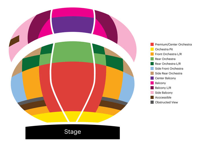 Seat Maps | Annenberg Center Live